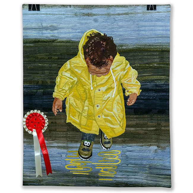 First Place - Art Pictoral - Boy with Boots by Susan van Goethem