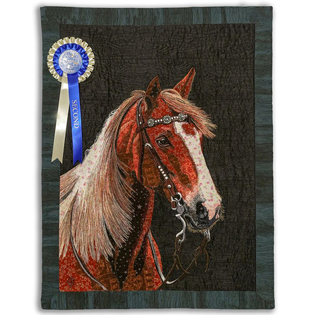 Second Place - Pictorial - Horse No. 6 by Chitra Mandanna