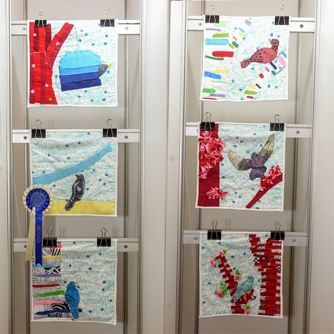 Second Place - Young Quilters - Troop 23