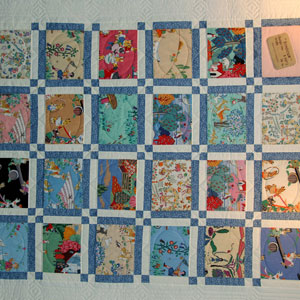 1st Place-THE QUILT MY MUMMY NEVER MADE ME by BARBARA ALSTON