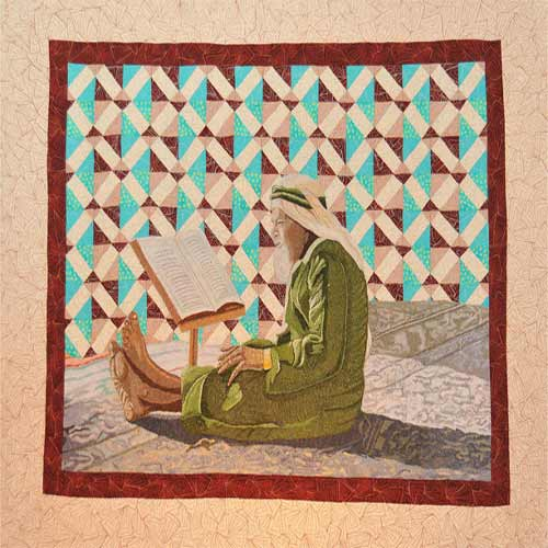 2nd place- Old man and his Quran by Simine Ahmaripour